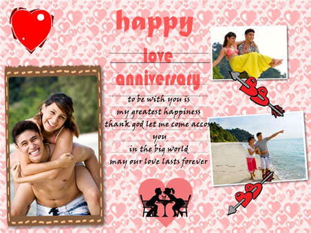 love anniversary - Make Your Own Anniversary Card
