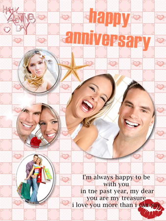 anniversary card ideas picture collage maker