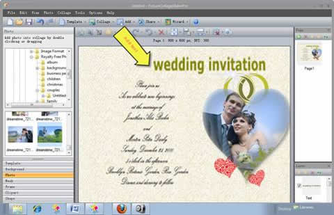 How to make a wedding invitation card 4g stopboris Image collections