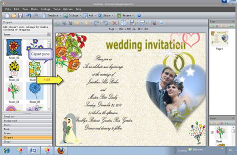Royaal weddings top quality hippy wedding nashville for Wedding invitation maker program