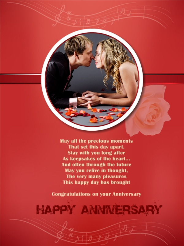 anniversary collage    card add-on templates