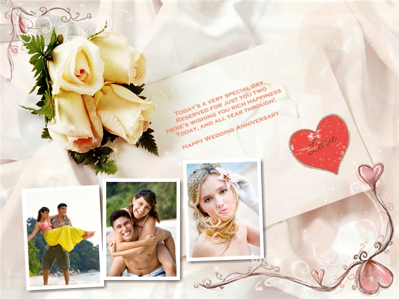 Anniversary collage card add on templates download free see more photo collage samples maxwellsz