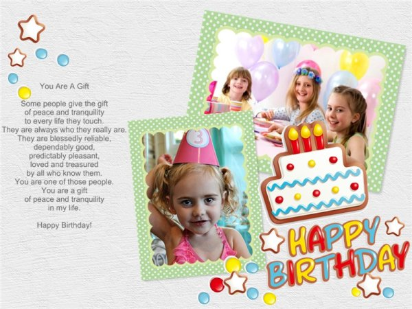 Birthday collage maker make happy birthday photo collage from see more photo collage samples bookmarktalkfo Choice Image