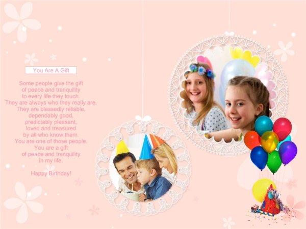 birthday collage maker