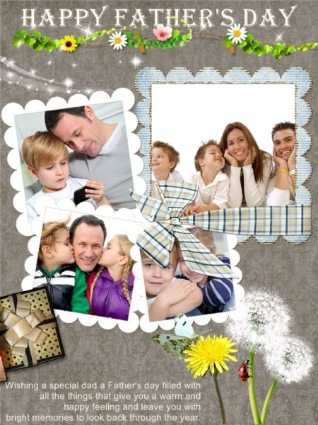 father u0026 39 s day card template