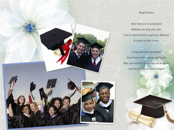 Graduation Collage Card Add On Templates Download Free