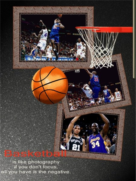 sport collage    card add-on templates