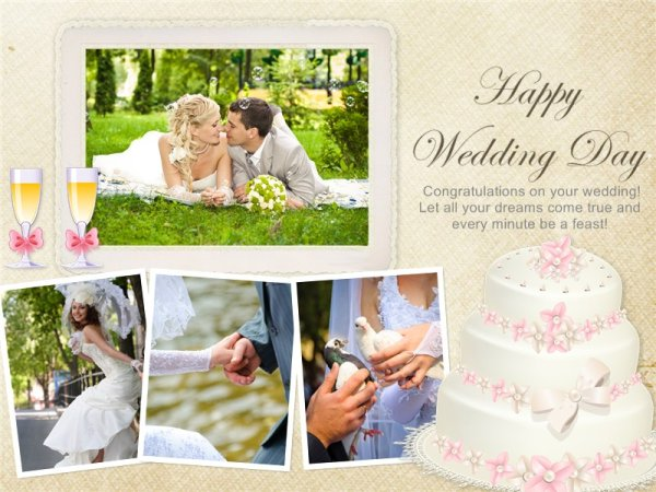 Wedding Invitation Picture: Wedding Invitation Card Add-on Templates