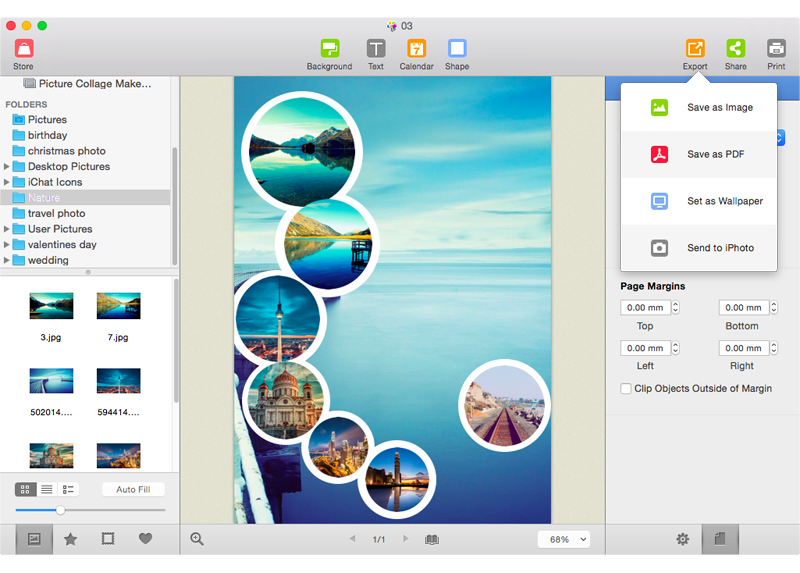 Picture Collage Maker for Mac - Photo Collage Editor on Mac