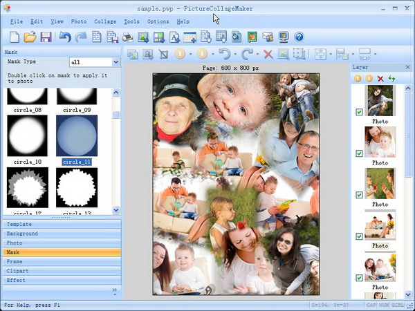 Picture Collage Maker Screen Shots