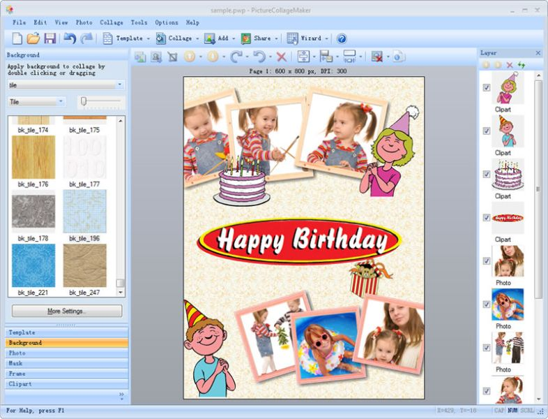 Picture Collage Maker 3.3.9 full