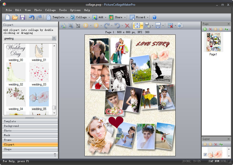Picture Collage Maker For Mac Amp Win Photo Collage Software
