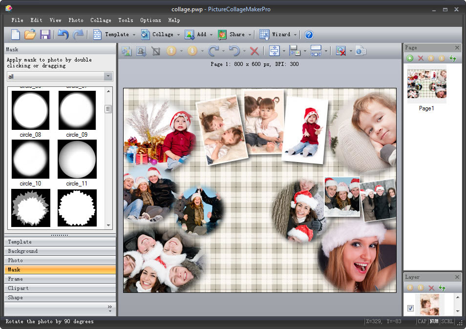 Art Explosion Calendar Maker Review : Picture collage maker for mac win photo software